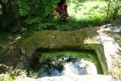 Една от гробниците до с. Долно Черковище.