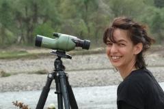 Албена Куртева наблюдава египетски лешояди